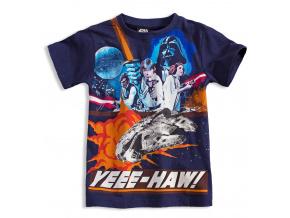 Tričko s krátkými rukávy Disney STAR WARS tmavě modré