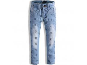 Dívčí džíny DIRKJE HVĚZDIČKY modré
