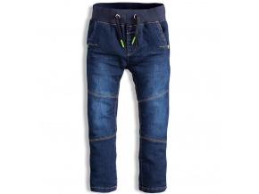 Dětské kalhoty DIRKJE WIN modré ca0fae5a2f