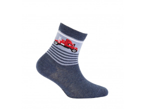 Chlapecké vzorované ponožky GATTA TRUCK modré
