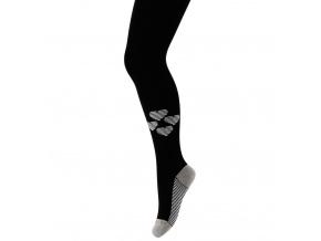 Dívčí punčocháče s obrázkem GATTA SRDCE černé
