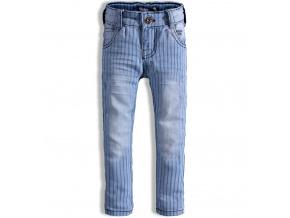 Dětské kalhoty DIRKJE PROUŽKY modré