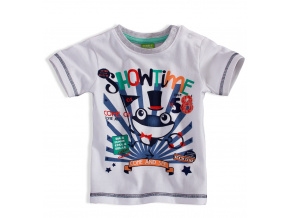 Dětské tričko PEBBLESTONE ŽABÁK bílé