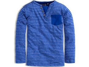 Chlapecké triko KNOT SO BAD PROUŽKY středně modré