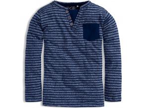 Chlapecké triko KNOT SO BAD PROUŽKY tmavě modré