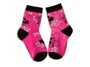 Dětské ponožky DISNEY MINNIE růžové