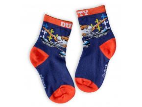Dětské ponožky DISNEY LETADLA modré