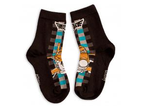 Dětské ponožky DISNEY LETADLA černé