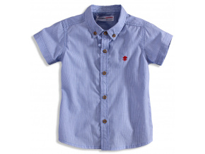 Dětská košile s krátkým rukávem MINOTI TRINITY modrá