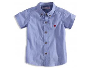 7d3875c326e Dětská košile s krátkým rukávem MINOTI TRINITY modrá