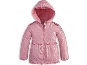 Dívčí jarní bunda DIRKJE ICE CREAM růžová