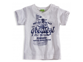 Kojenecké tričko PEBBLESTONE GREATEST bílé