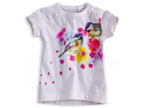 Dívčí tričko KNOT SO BAD BIRDS bílé