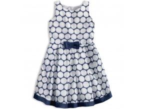 Dívčí šaty KNOT SO BAD DOTS modré