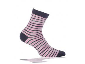 Dětské ponožky GATTA, vzor PROUŽKY WOLA PROUŽKY