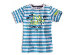 Chlapecké tričko s krátkým rukávem PEBBLESTONE LOS ANGELES modré