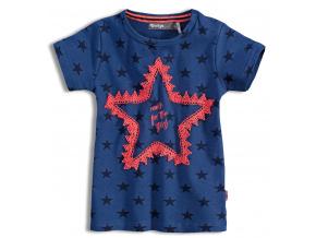 Dětské tričko s krátkým rukávem DIRKJE STARS modré