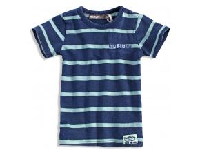 Chlapecké tričko DIRKJE BEACH SIDE modré proužek