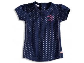 Dívčí tričko krátký rukáv DIRKJE BOLSA modré