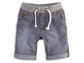 Dětské šortky MINOTI TYLER modrý proužek