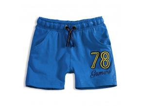 Chlapecké bavlněné šortky KNOT SO BAD GAMERS modré