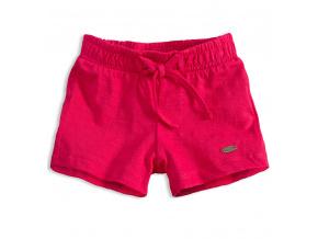 Dívčí bavlněné šortky KNOT SO BAD LOVE růžové