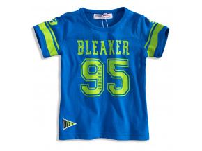 Dětské tričko s krátkým rukávem MINOTI BLAKER modré