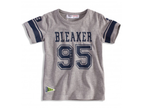 Chlapecké tričko s krátkým rukávem MINOTI BLAKER šedé