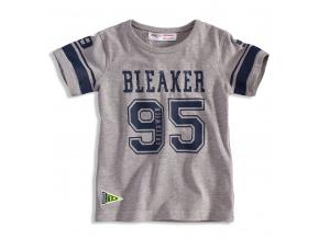 Dětské tričko s krátkým rukávem MINOTI BLAKER šedé