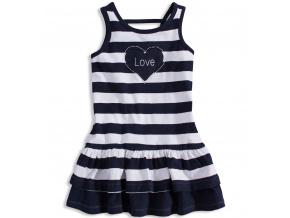 Dívčí šaty LOSAN LOVE tmavě modré