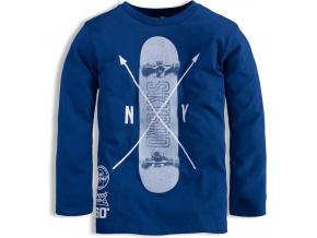 Chlapecké triko KNOT SO BAD SKATE modré