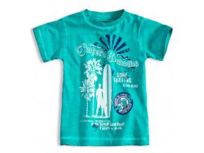 Chlapecké tričko s krátkým rukávem KNOT SO BAD SURFER zelené