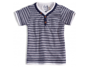 Chlapecké tričko KNOT SO BAD PROUŽKY modré