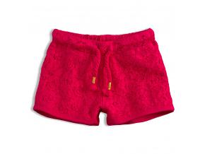 Dívčí krajkové šortky KNOT SO BAD LACE růžové