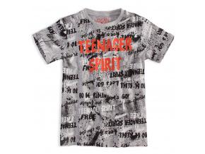 Chlapecké tričko s krátkým rukávem LOSAN SPIRIT šedé