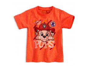 Chlapecké tričko PAW PATROL MARSHALL oranžové