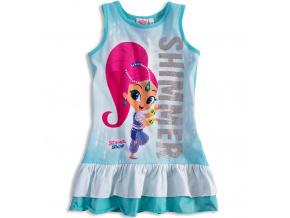 Dívčí letní šaty SHIMMER & SHINE SHIMMER tyrkysové