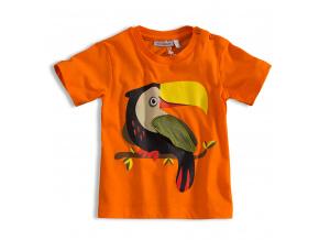 Dětské tričko s krátkým rukávem Mix´nMATCH TUKAN oranžové