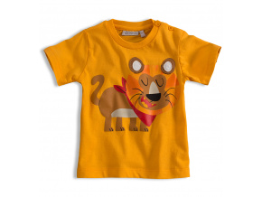 Dětské tričko Mix´nMATCH LEV žluté