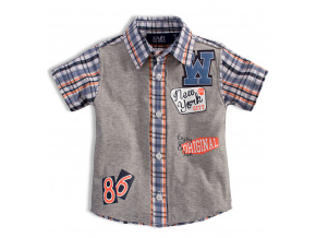Chlapecká košile KNOT SO BAD NEW YORK oranžová