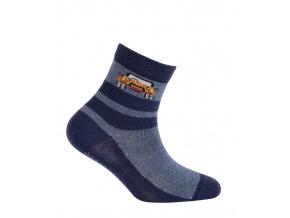 Chlapecké ponožky s obrázkem GATTA JEEP modré