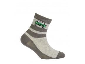 Chlapecké ponožky s obrázkem GATTA JEEP šedé