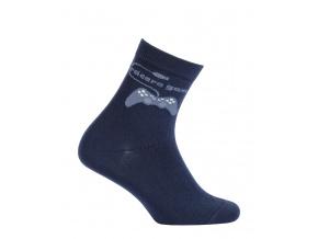 Chlapecké ponožky GATTA GAMES tmavě modré