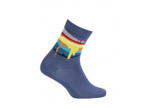Chlapecké ponožky GATTA COLOURS modré