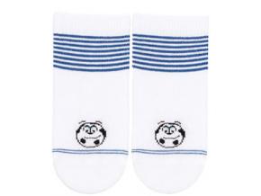 Kojenecké ponožky WOLA MÍČ bílé