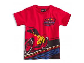 Chlapecké tričko Disney AUTA AUTA červené