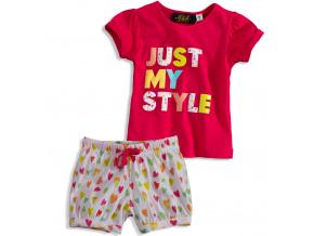 Dívčí pyžamo KNOT SO BAD MY STYLE růžové