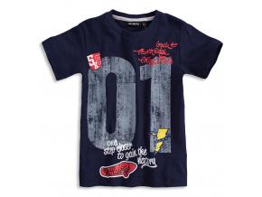 Chlapecké tričko Mix´nMATCH RIDE modré