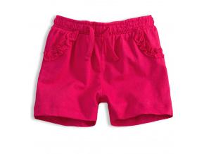 Dívčí šortky KNOT SO BAD FRILL růžové