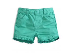 Dívčí šortky KNOT SO BAD BABY zelené